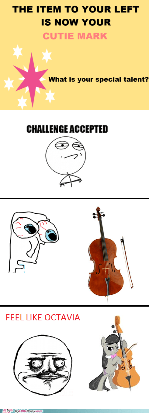 cello cutie mark meme my little brony special talent - 6213808640