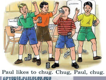 beer,chug,Paul