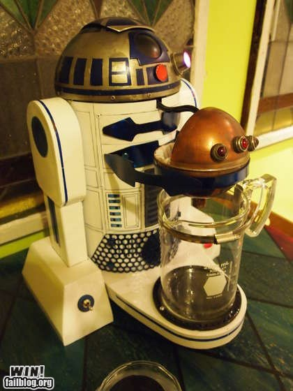 coffee DIY Hall of Fame nerdgasm r2-d2 star wars