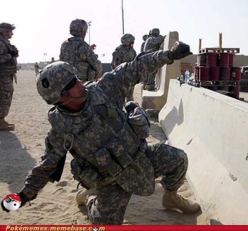 army grenade IRL pokeball type advantage - 6214212352