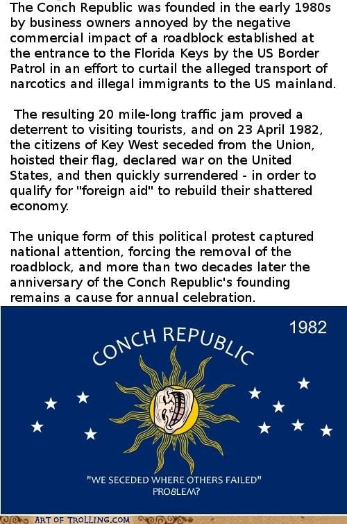 border patrol conch republic roadblock - 6214246656