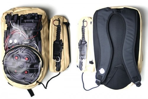 backpack design Ghostbusters nerdgasm - 6214328832