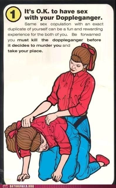 creepy Doppelgänger sex with doppelgangers - 6214491136