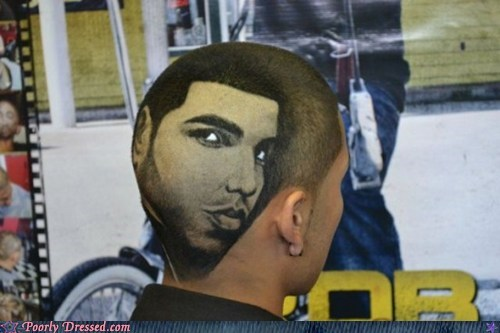 Drake,fade,hair,haircut