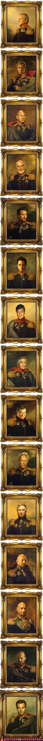 best of week celeb paintings russian generals wtf - 6214638848