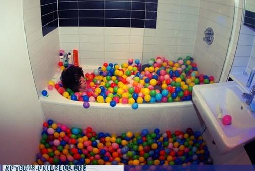 ball pit ballpit bath bathroom bathtub mcdonalds ball pit mcdonalds balls