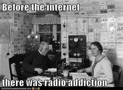 Before the internet there was radio addiction