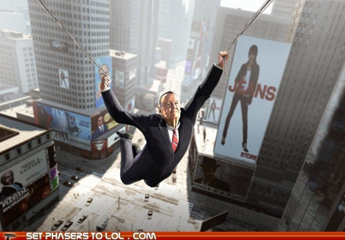 new york Spider-Man stan lee swinging the amazing spider-man video games webs - 6214896896