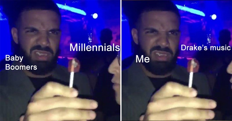 Drake drake reacting to a lollipop drake memes candy magician memes relatable memes hip hop funny reactions funny memes magician reactions magicians candy memes facial exspressions - 6215173