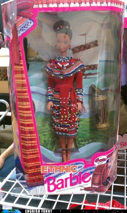 ethnic barbie,german,indian,lederhosen,saree,sari