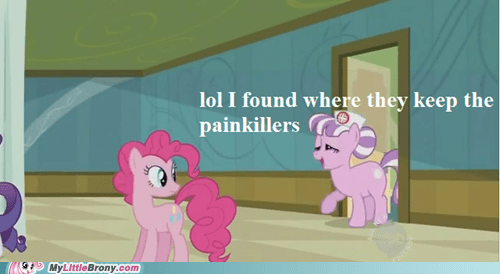 pinkie pie read it and weep somepony stealing TV - 6215530496