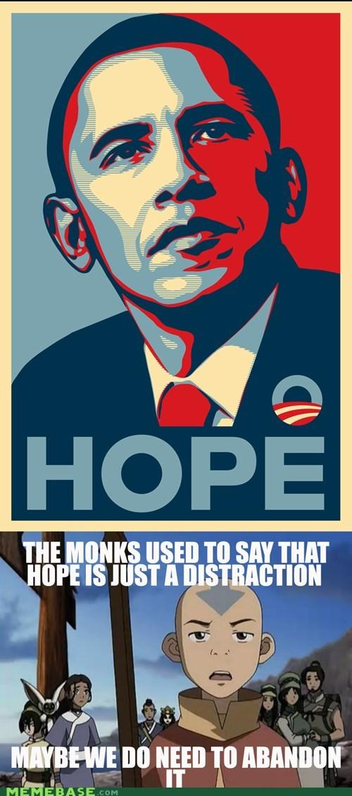 Avatar hope Memes monks obama - 6215614208
