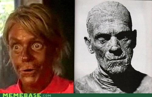 gross Memes mom monster mummy tan - 6215714304