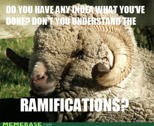 Memes puns ram ramifications sheep - 6216029696