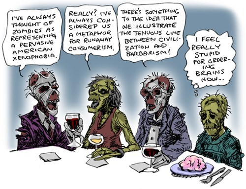 brains,Fan Art,monster,Party,zombie