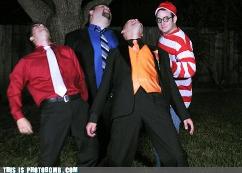 bernie,costume,dance,waldo,wheres waldo
