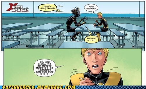 binary social situation Straight off the Page x men - 6216531456