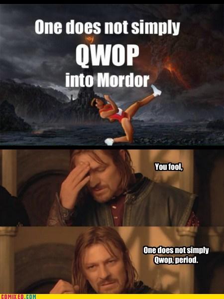 frodo,QWOP