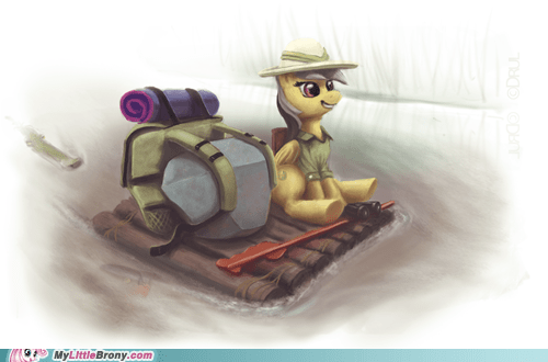 Adventures of Daring Do and Tom