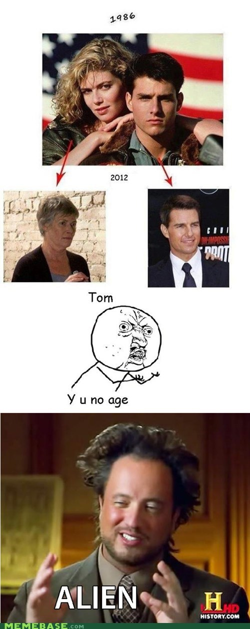 aging,ancient aliens,scientology,Tom Cruise