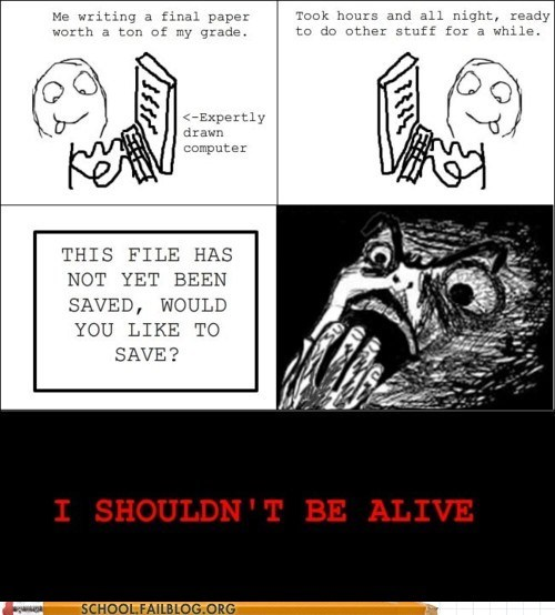 crisis averted did not save i shouldnt be alive losing paper - 6216866560