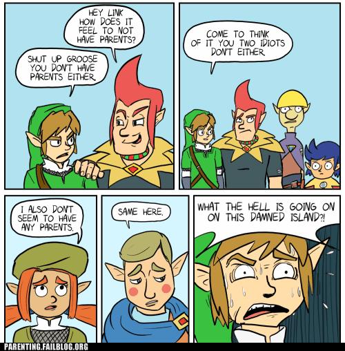comic,link,orphans,zelda