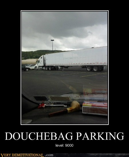 douchebag hilarious parking wtf