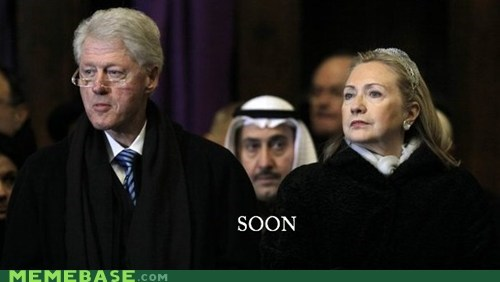 arabia bill clinton president SOON