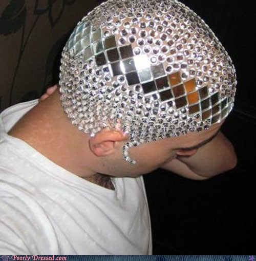 dome,hairstyle,head,Sequins,shiny