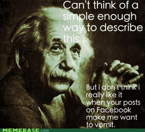 Einstein, always ahead of his time, everytime.