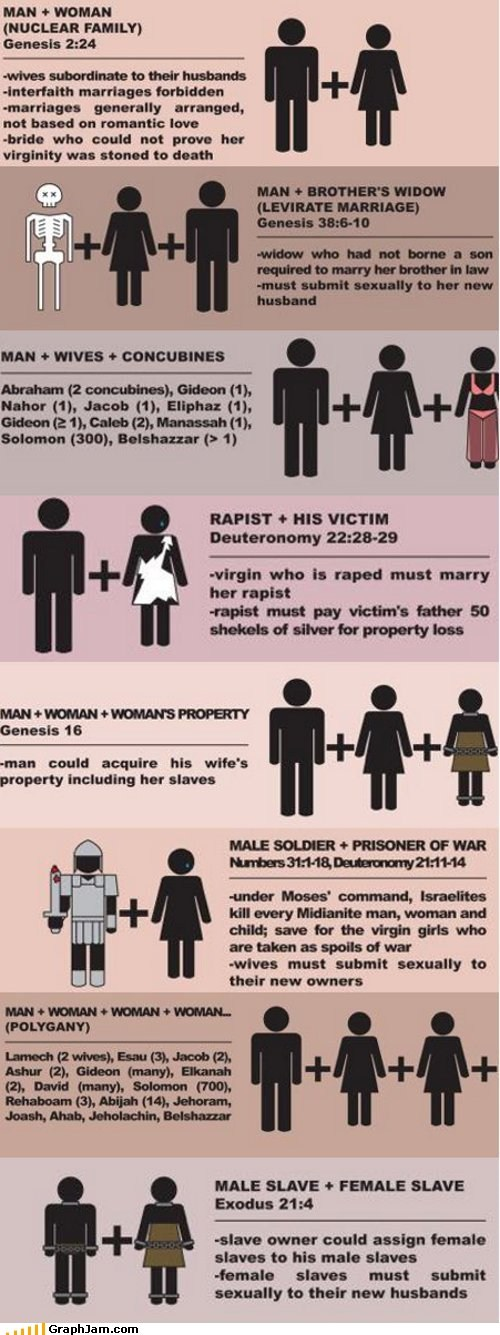 amendment one bible gay marriage infographic - 6217367552