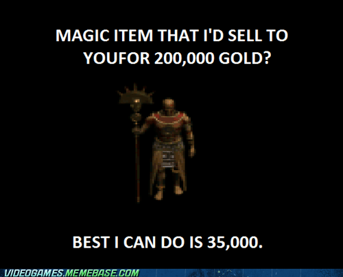 blizzard,diablo,diablo 2,gold,merchant,selling