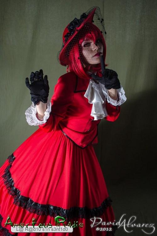Angelina Durles Kuroshitsuji Madame Red - 6217412352