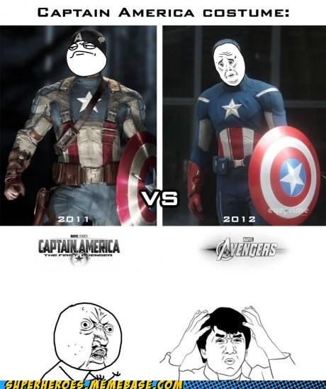 40s avengers captain america costume Super-Lols - 6217423616
