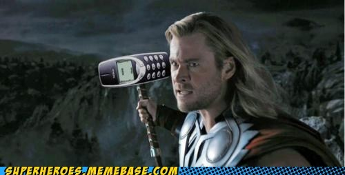 hurt mjolnir nokia Super-Lols Thor - 6217424640