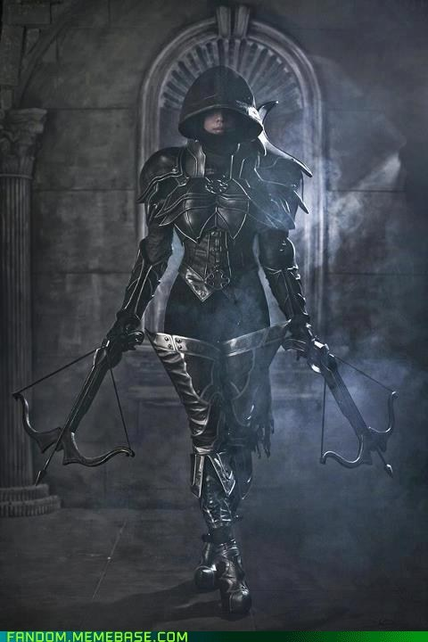 cosplay,demon hunter,diablo,video games