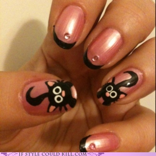Cats cool accessories kittehs nail art nails - 6217540864