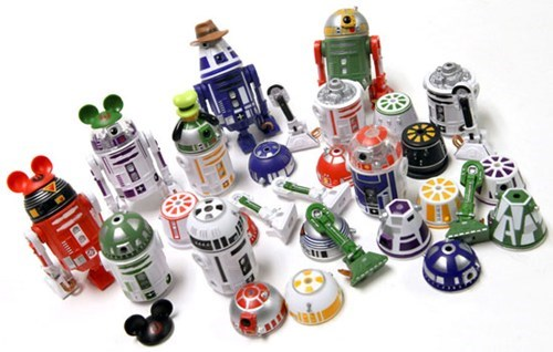 action figures,disney world,droid factory,droids,toys,Toyz