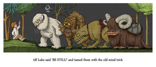 crossover Fan Art scifi star wars where the wild things are - 6217710848