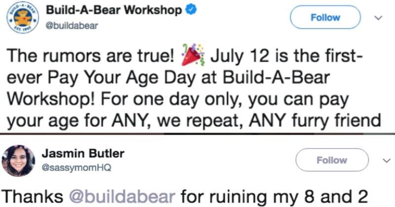 twitter FAIL toys cringe ridiculous build a bear funny - 6217989