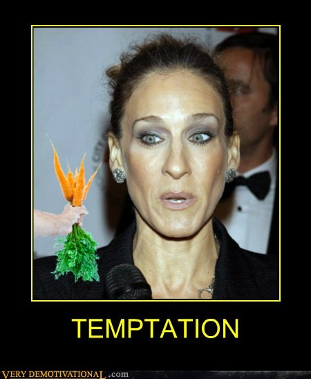 carrots hilarious horse SJP temptation - 6218149888