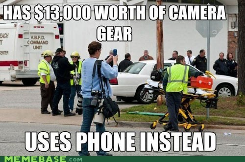 camera gear instagram Memes phone - 6218327552