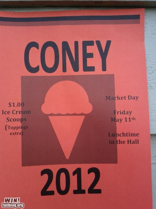 food,free stuff,ice cream,kony 2012,school,social
