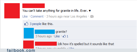 Spelling: Never Take it for Granted