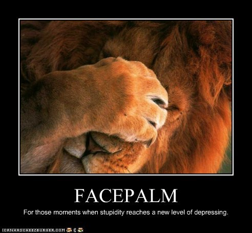 best of the week depressing facepalm Hall of Fame lion lions moments saying stupid things stupidity - 6218851584