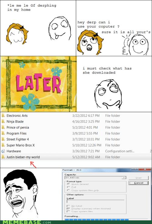 computer,justin bieber,relationships