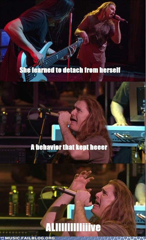 Dream Theater face facial expressions james labrie metal