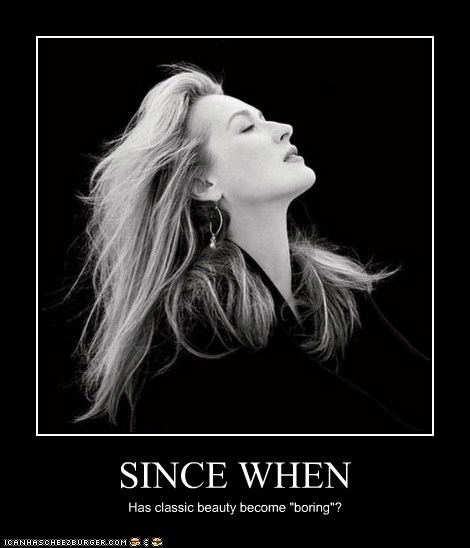 actor celeb demotivational funny Meryl Streep sexy