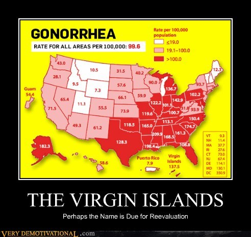 graph,hilarious,map,STDs,virgin islands