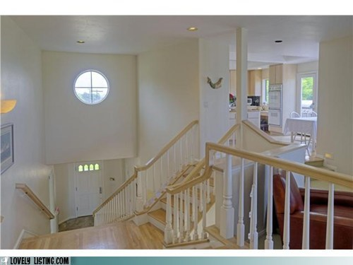 banisters confusing odd railings stairs - 6221009920